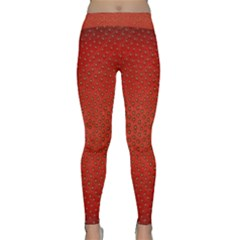 Strawberries 2 Classic Yoga Leggings
