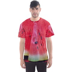 Watermelon 1 Men s Sports Mesh Tee