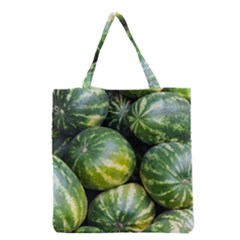 Watermelon 2 Grocery Tote Bag