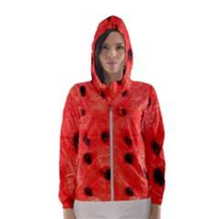 Watermelon 3 Hooded Wind Breaker (women)