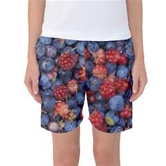 Wild Berries 1 Women s Basketball Shorts