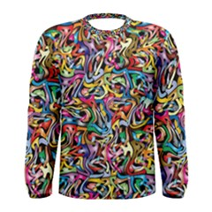 Artwork By Patrick Colorful 8 Men s Long Sleeve Tee