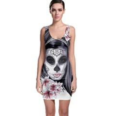 Day Of The Dead Bodycon Dress