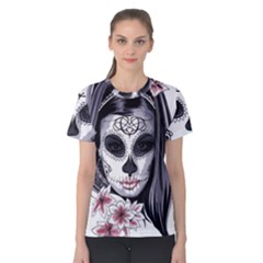 Day Of The Dead Women s Cotton Tee