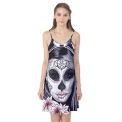 Day Of The Dead Sugar Skull Camis Nightgown