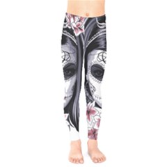 Day Of The Dead Sugar Skull Kids  Legging