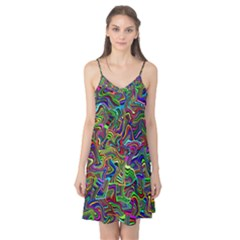 Artwork By Patrick Colorful 9 Camis Nightgown