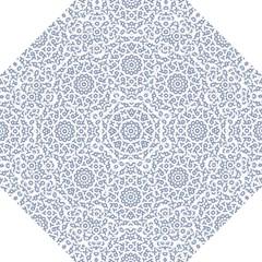 Radial Mandala Ornate Pattern Hook Handle Umbrellas (medium)