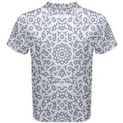 Radial Mandala Ornate Pattern Men s Cotton Tee