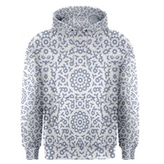 Radial Mandala Ornate Pattern Men s Pullover Hoodie