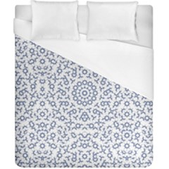 Radial Mandala Ornate Pattern Duvet Cover (california King Size)
