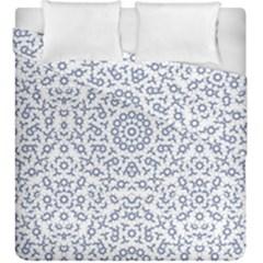 Radial Mandala Ornate Pattern Duvet Cover Double Side (king Size)