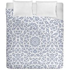 Radial Mandala Ornate Pattern Duvet Cover Double Side (california King Size)