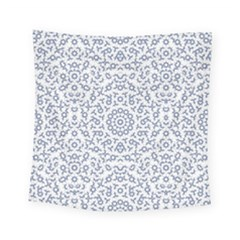 Radial Mandala Ornate Pattern Square Tapestry (small)