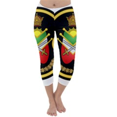 Shield Of The Imperial Iranian Ground Force Capri Winter Leggings