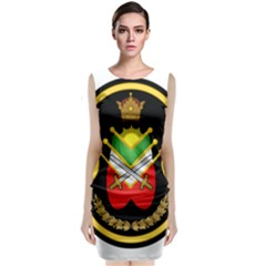 Shield Of The Imperial Iranian Ground Force Classic Sleeveless Midi Dress