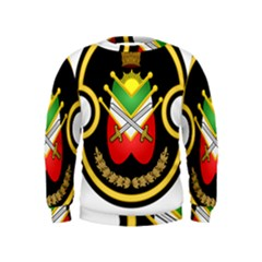 Shield Of The Imperial Iranian Ground Force Kids  Sweatshirt