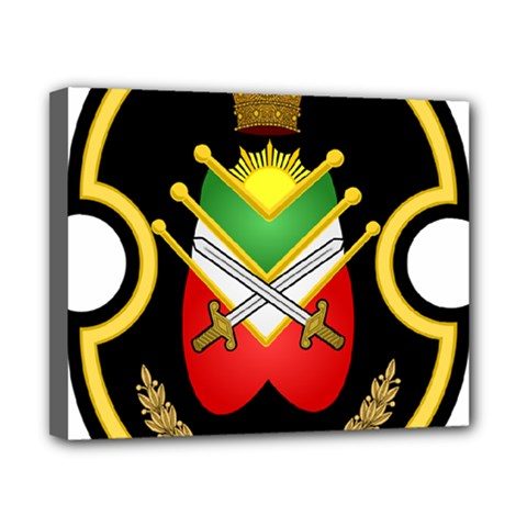 Shield Of The Imperial Iranian Ground Force Canvas 10  X 8