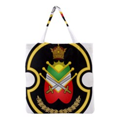 Shield Of The Imperial Iranian Ground Force Grocery Tote Bag