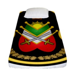 Shield Of The Imperial Iranian Ground Force Fitted Sheet (single Size)
