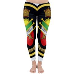 Shield Of The Imperial Iranian Ground Force Classic Winter Leggings