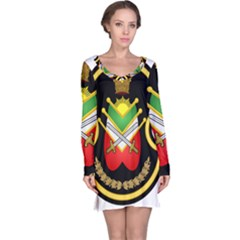 Shield Of The Imperial Iranian Ground Force Long Sleeve Nightdress