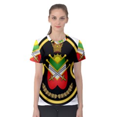 Shield Of The Imperial Iranian Ground Force Women s Sport Mesh Tee
