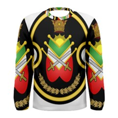 Shield Of The Imperial Iranian Ground Force Men s Long Sleeve Tee