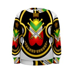 Shield Of The Imperial Iranian Ground Force Women s Sweatshirt