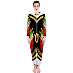 Shield Of The Imperial Iranian Ground Force Onepiece Jumpsuit (ladies)