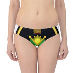 Shield Of The Imperial Iranian Ground Force Hipster Bikini Bottoms