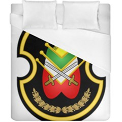 Shield Of The Imperial Iranian Ground Force Duvet Cover (california King Size)