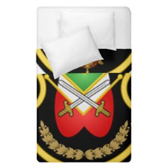 Shield Of The Imperial Iranian Ground Force Duvet Cover Double Side (single Size)