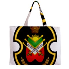 Shield Of The Imperial Iranian Ground Force Zipper Medium Tote Bag