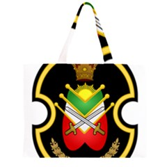 Shield Of The Imperial Iranian Ground Force Zipper Large Tote Bag