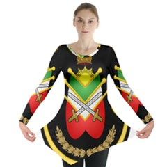 Shield Of The Imperial Iranian Ground Force Long Sleeve Tunic