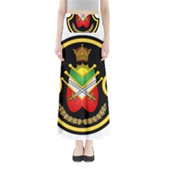 Shield Of The Imperial Iranian Ground Force Full Length Maxi Skirt