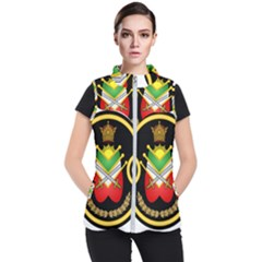 Shield Of The Imperial Iranian Ground Force Women s Puffer Vest