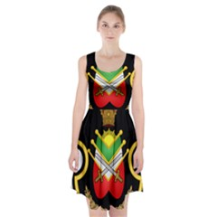 Shield Of The Imperial Iranian Ground Force Racerback Midi Dress