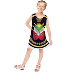 Shield Of The Imperial Iranian Ground Force Kids  Tunic Dress