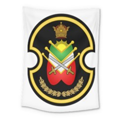 Shield Of The Imperial Iranian Ground Force Medium Tapestry