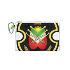 Shield Of The Imperial Iranian Ground Force Canvas Cosmetic Bag (small)