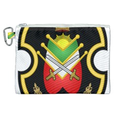 Shield Of The Imperial Iranian Ground Force Canvas Cosmetic Bag (xl)