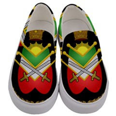 Shield Of The Imperial Iranian Ground Force Men s Canvas Slip Ons