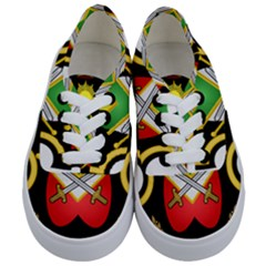 Shield Of The Imperial Iranian Ground Force Kids  Classic Low Top Sneakers
