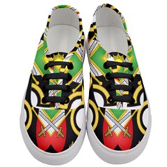 Shield Of The Imperial Iranian Ground Force Women s Classic Low Top Sneakers
