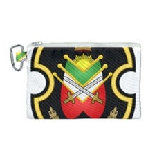 Shield Of The Imperial Iranian Ground Force Canvas Cosmetic Bag (medium)