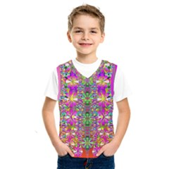 Flower Wall With Wonderful Colors And Bloom Kids  Sportswear