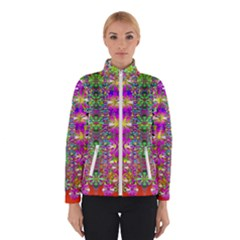 Flower Wall With Wonderful Colors And Bloom Winterwear