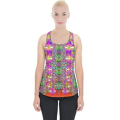 Flower Wall With Wonderful Colors And Bloom Piece Up Tank Top